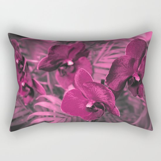 Orchid falinopsis . Rectangular Pillow