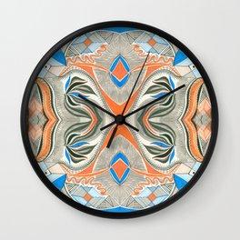 Clowning Around 3 Symmetrical design Wall Clock