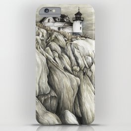 Bass Harbor Head Lighthouse iPhone Case