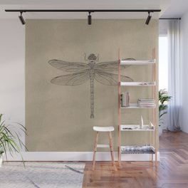 Dragonfly Fossil Dos Wall Mural