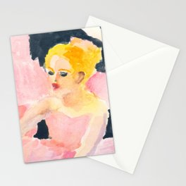 Ballerina in Pink Stationery Cards