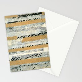 mosmith word collage Stationery Cards