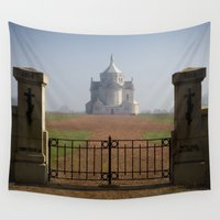 the national Wall Tapestries featuring Necropole National by davehare