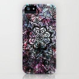 Intergalactic Mandala iPhone Case
