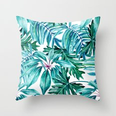 Tropical jungle II Throw Pillow