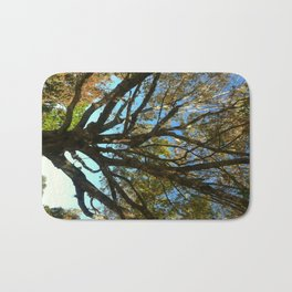 Sunset tree Bath Mat