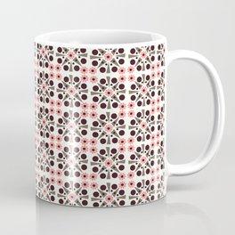 Gem Tiles Coral Coffee Mug