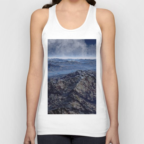 Welcome To Planet X Unisex Tank Top