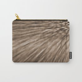 Taupe Pixel Wind Carry-All Pouch