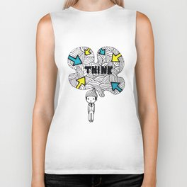 Think, dude. Biker Tank