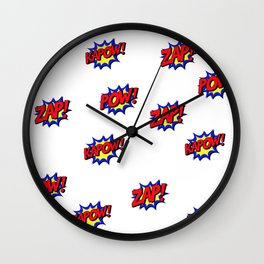 Comics Wall Clock