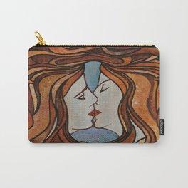 Lesbian Kiss (Art Nouveau Style) Carry-All Pouch