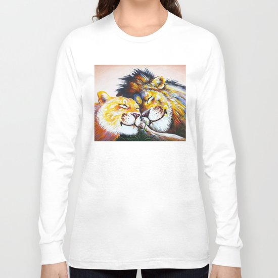 lion love Long Sleeve T-shirt