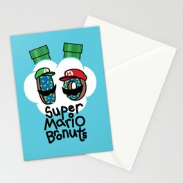 Super Mario Bronuts Stationery Cards