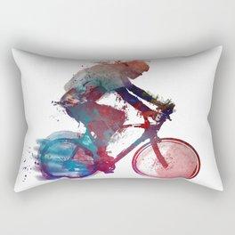 cyclist 1 #sport #cyclist Rectangular Pillow
