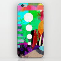 good vibes iPhone & iPod Skins featuring Good Vibes by Lynsey Ledray