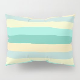 lumpy or bumpy lines abstract and summer colorful - QAB271 Pillow Sham