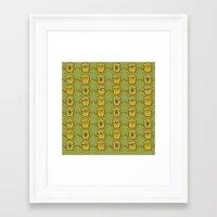 jake Framed Art Prints featuring JAKE by SuperPills