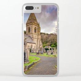 Church at Pantasaph Clear iPhone Case