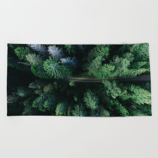 Woods #sky Beach Towel
