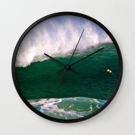 Windy Wave Wall Clock
