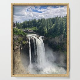Over the Falls Serving Tray