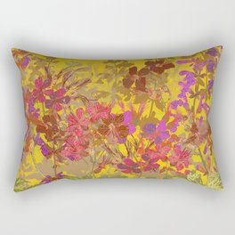 A Day in the Sun (Geraniums) Rectangular Pillow