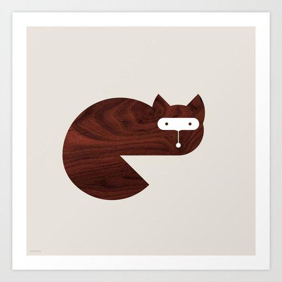 Minanimals: Fox Art Print