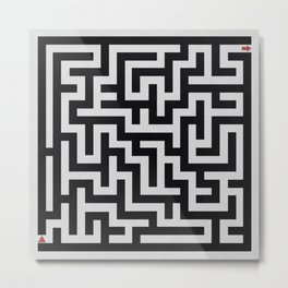 Maze / There Is Always an Exit Metal Print