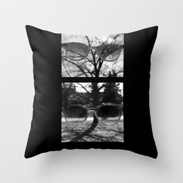 Take Off Your Sunglasses Throw Pillow