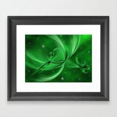 The marsh elves Framed Art Print