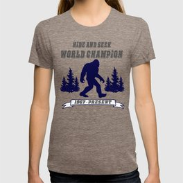 Hide and Seek World Champion Bigfoot T-shirt