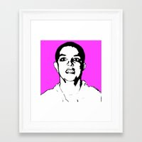 britney spears Framed Art Prints featuring Britney Spears by ACHE