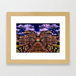 Medieval Fortress Kalemegdan Belgrade Framed Art Print