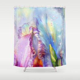 Abstract Mystical Shower Curtain