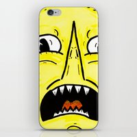 lemongrab iPhone & iPod Skins featuring LEMONGRAAAAAB by alexSHARKE