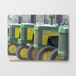 Tractors Metal Print