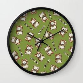 Maneki Neko Mhysa Wall Clock