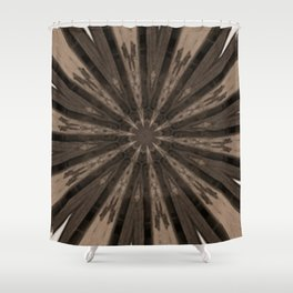Ghost Town Kaleidoscope Shower Curtain