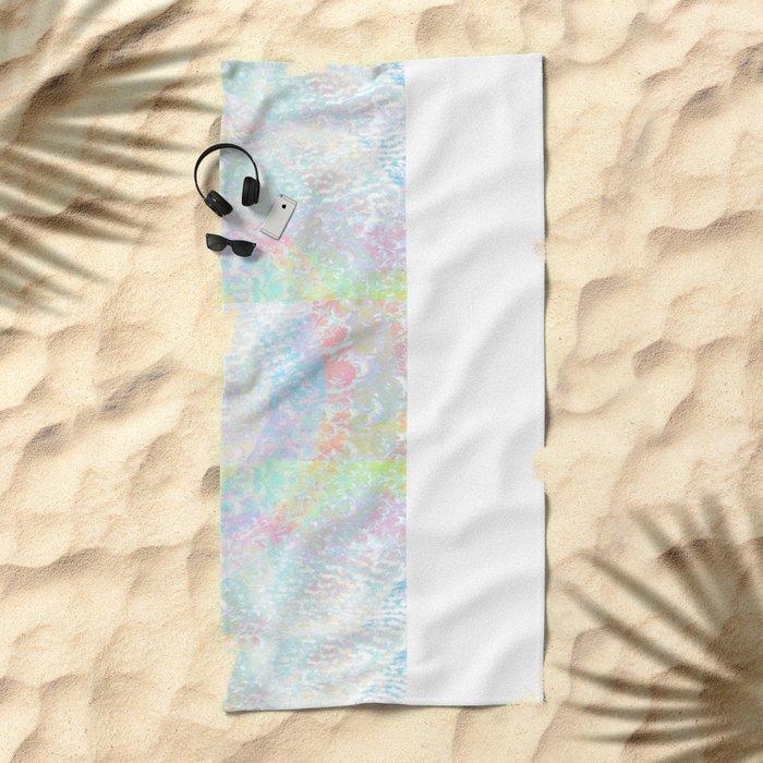 The Grey Area Beach Towel