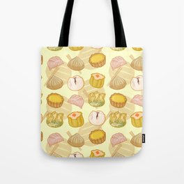Dimsum everywhere! [yellow] Tote Bag