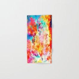 Colorful Abstract Nebula Hand & Bath Towel
