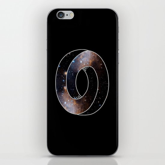The Universe Cycle iPhone & iPod Skin