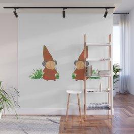 Wilhelmina the Gnome Wall Mural