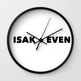 Isak+Even Wall Clock