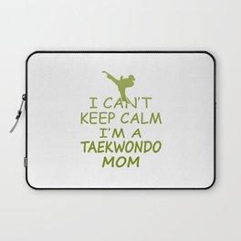 I'M A TAEKWONDO MOM Laptop Sleeve
