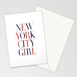 New York City Girl Stationery Cards