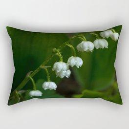 Lilies of the valley Rectangular Pillow