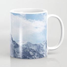 Snowy Mountain Peaks Coffee Mug