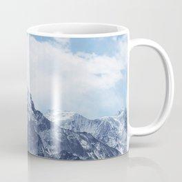 Snowy Mountain Peaks Coffee Mug